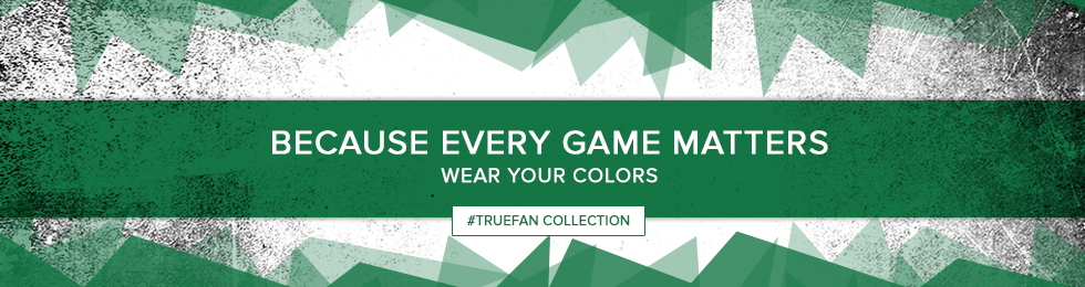 Because every game matters, wear your colors, use shop #truefan. Click to shop Truefan Collection.